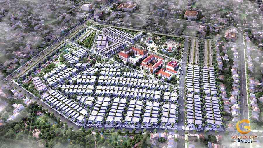 Dự Án KDC GOLDEN CITY