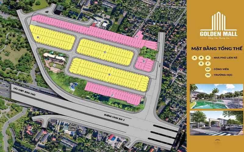 dự án golden mall